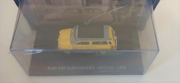 Macheta van Fiat 500 Giardiniera 1960, scara 1:43  -cu mic defect: vitrina fisurata 1