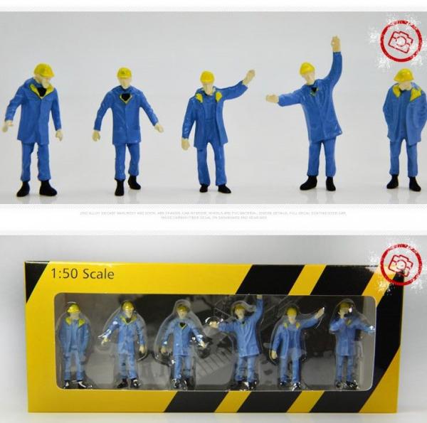 Figurine ingineri santier/fabrica, scara 1:50 0