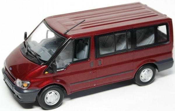 Macheta minibus Ford Transit Mk5, 2000-2006, scara 1:43 0