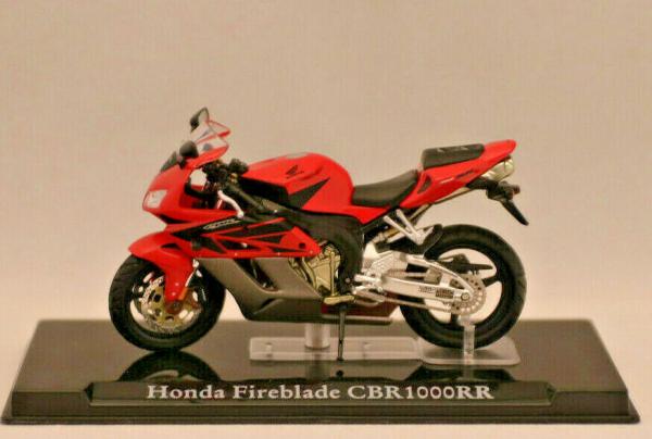 Macheta motocicleta Honda Fireblade CBR1000RR, scara 1:24 1