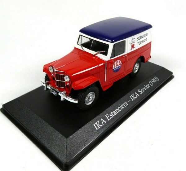 Macheta auto furgoneta IKA Estanciera, scara 1:43 0