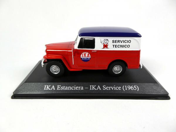 Macheta auto furgoneta IKA Estanciera, scara 1:43 1