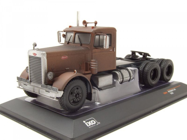 "Macheta cap tractor Peterbilt 281 ""ruginit"", scara 1:43 0"