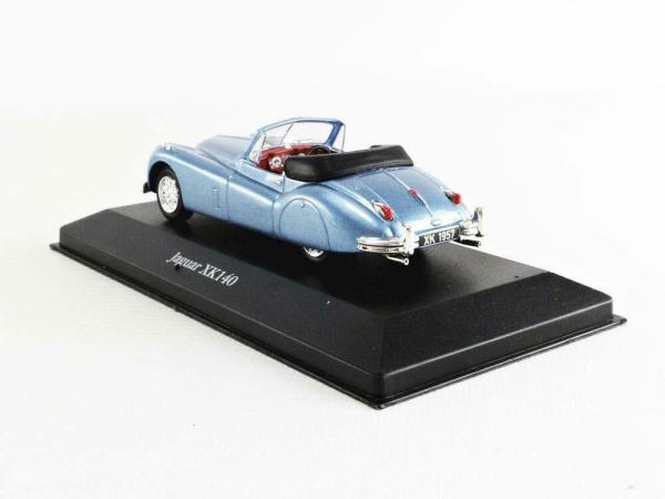 Macheta auto Jaguar XK140 Roadster 1957, scara 1;43 1