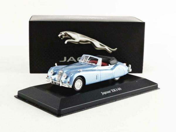 Macheta auto Jaguar XK140 Roadster 1957, scara 1;43 3