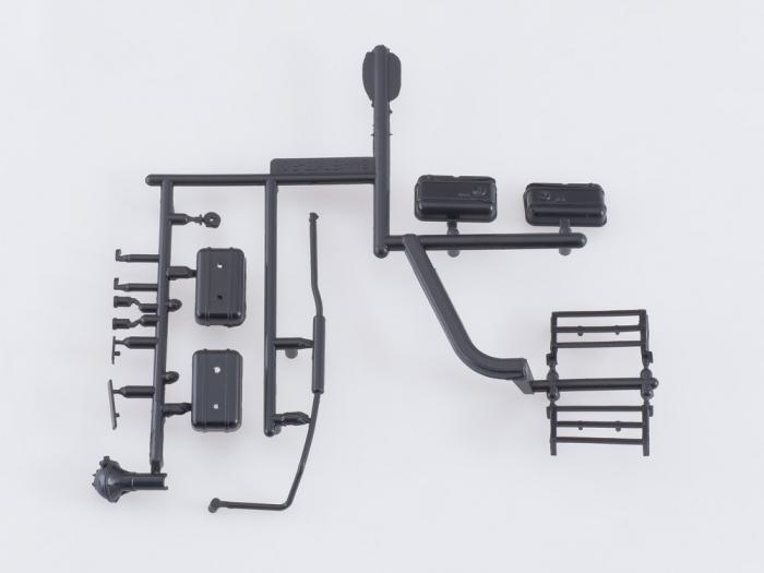 Kit macheta atelier mobil ZIL-157K, scara 1:43 [4]