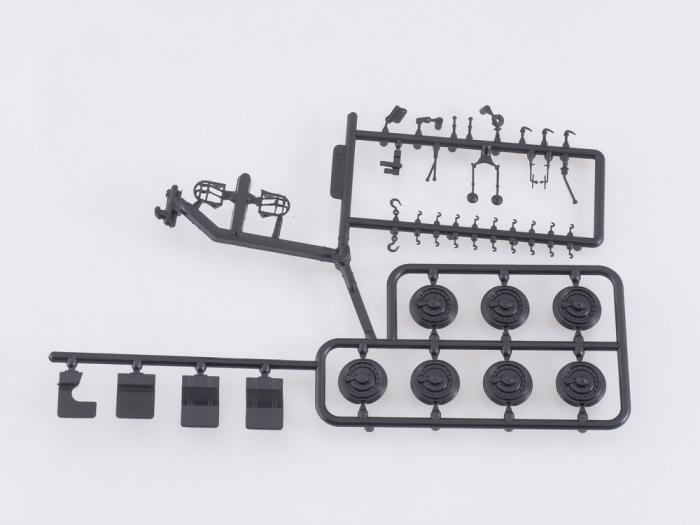 Kit macheta atelier mobil ZIL-157K, scara 1:43 [5]