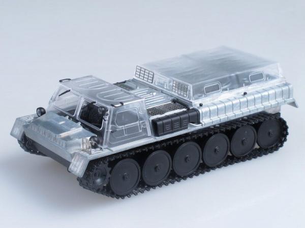 Kit macheta autosenilata GAZ 71 cu prelata, scara 1:43 3