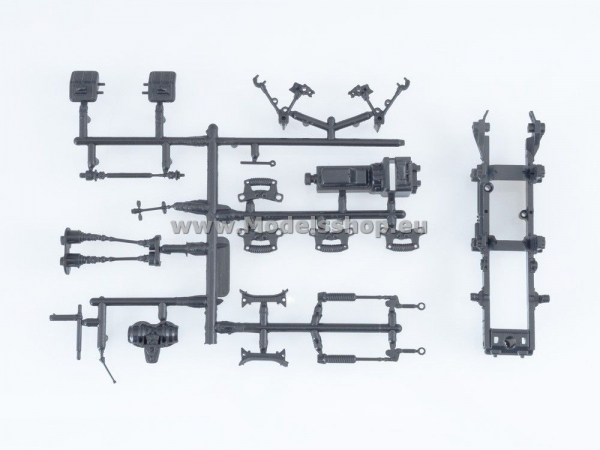 Kit macheta buldozer T-150, scara 1:43 3