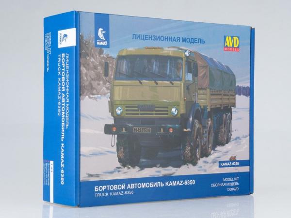 Kit macheta camion Kamaz 6350 Mustang, scara 1:43 0