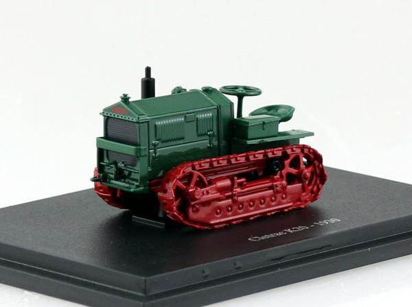 Macheta tractor cu senile Cletrac K20 1930, scara 1:43 0