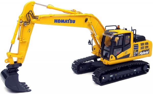 Macheta excavator pe senile Komatsu HB205 Hybrid, scara 1:50 0