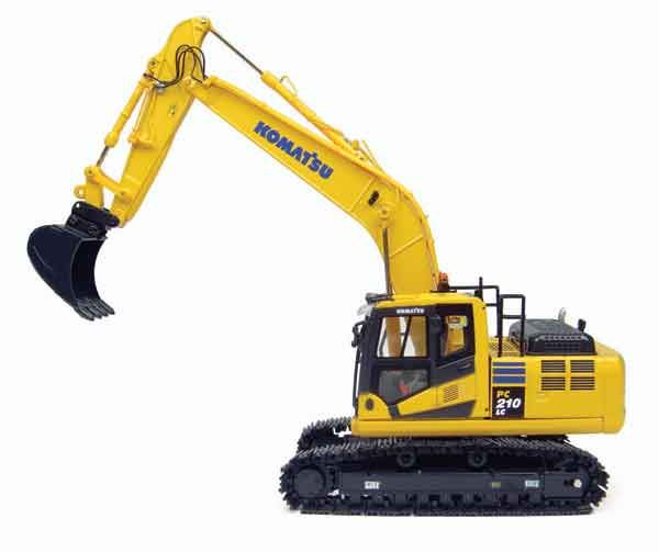 Macheta excavator pe senile Komatsu HB205 Hybrid, scara 1:50 1