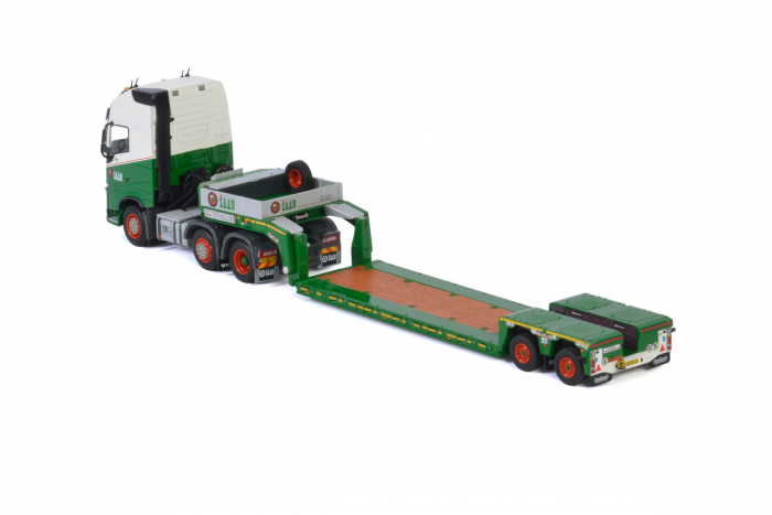 Macheta cap tractor Volvo FH4 6x4 cu traiiler Goldhoffer, scara 1;50 [3]