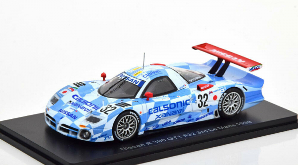 Macheta auto Nissan R390 GT1 Le Mans 1998, scara 1:43 0