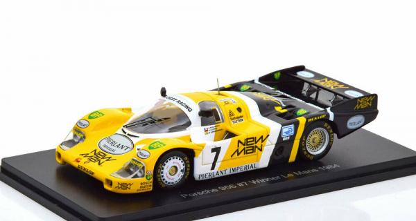 Macheta auto Porsche 956 Le Mans 1984, scara 1:43 0