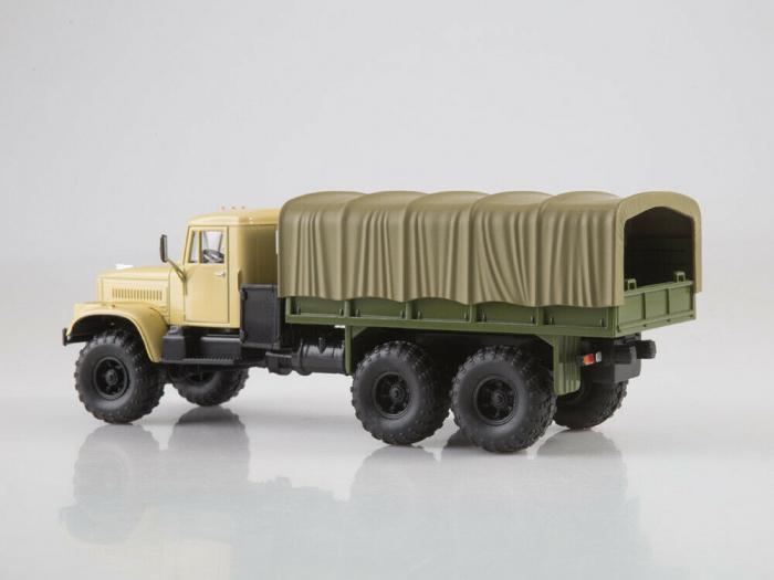 Macheta auto camion Kraz 255B1, scara 1:43 [3]