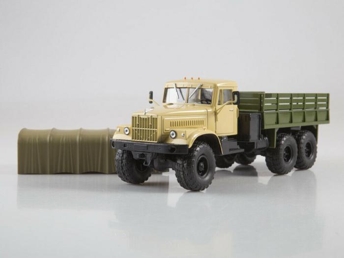 Macheta auto camion Kraz 255B1, scara 1:43 [5]