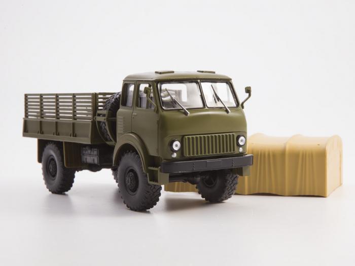 Macheta auto camion MAZ-505, scara 1:43 7
