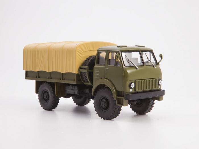 Macheta auto camion MAZ-505, scara 1:43 3