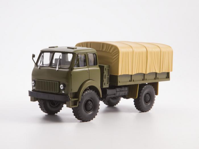 Macheta auto camion MAZ-505, scara 1:43 0
