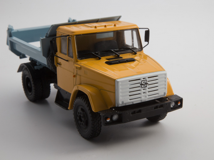Macheta auto basculanta ZIL-MMZ-4508, scara 1:43 8