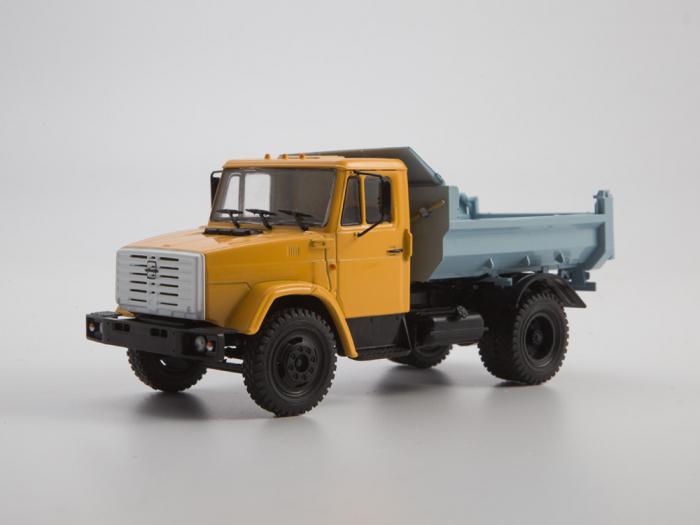 Macheta auto basculanta ZIL-MMZ-4508, scara 1:43 0