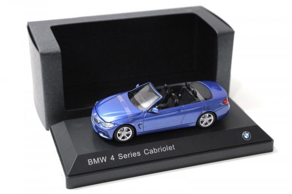 Macheta auto BMW seria 4 cabrio, scara 1:43 0