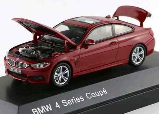 Macheta auto BMW seria 4 coupe, scara 1:43 1