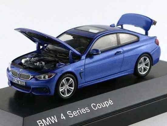 Macheta auto BMW seria 4 coupe, scara 1:43 0