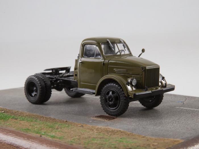 Macheta auto camion cap tractor GAZ-51P, scara 1:43 8