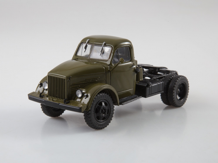 Macheta auto camion cap tractor GAZ-51P, scara 1:43 6