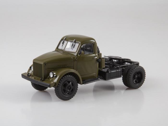 Macheta auto camion cap tractor GAZ-51P, scara 1:43 4
