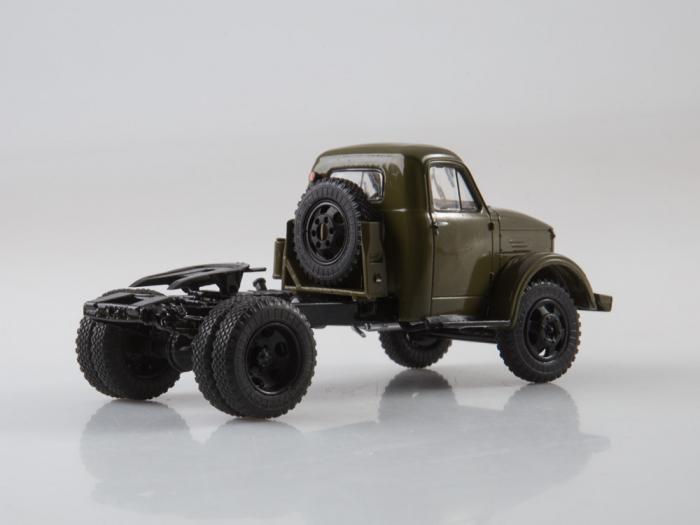 Macheta auto camion cap tractor GAZ-51P, scara 1:43 5