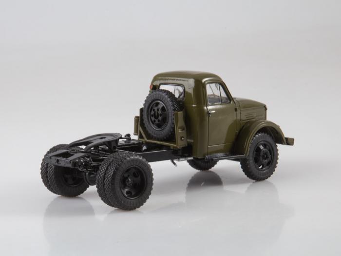 Macheta auto camion cap tractor GAZ-51P, scara 1:43 2