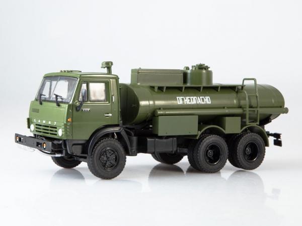 Macheta auto camion cisterna AC-9 (Kamaz-5320), scara 1:43 1