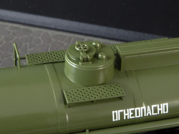 Macheta auto camion cisterna AC-9 (Kamaz-5320), scara 1:43 4