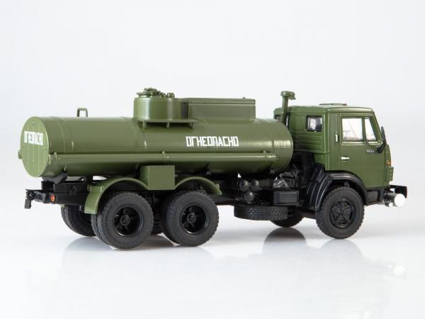 Macheta auto camion cisterna AC-9 (Kamaz-5320), scara 1:43 3