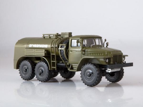 Macheta auto camion cisterna TZ-5 (Ural-375), scara 1:43 2