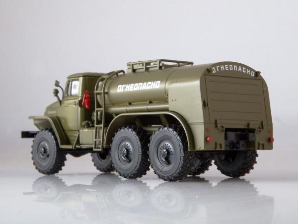 Macheta auto camion cisterna TZ-5 (Ural-375), scara 1:43 1