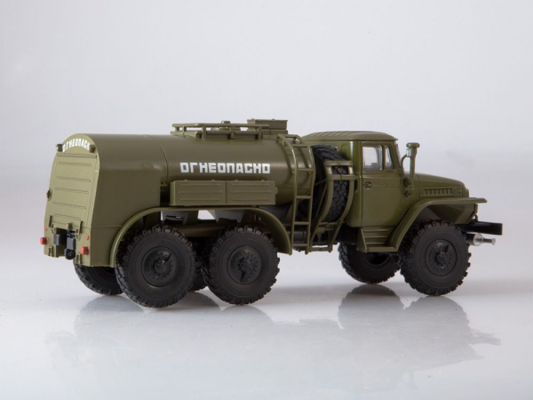 Macheta auto camion cisterna TZ-5 (Ural-375), scara 1:43 3