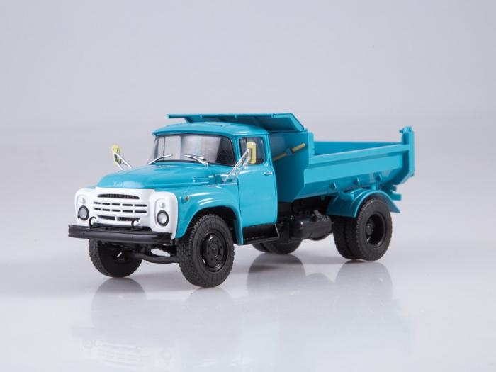 Macheta auto basculanta ZIL-MMZ-4505, scara 1:43 [0]