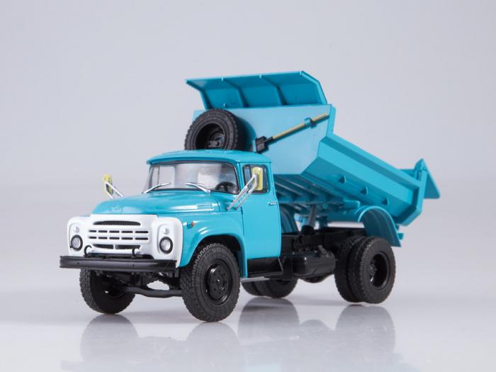 Macheta auto basculanta ZIL-MMZ-4505, scara 1:43 [5]