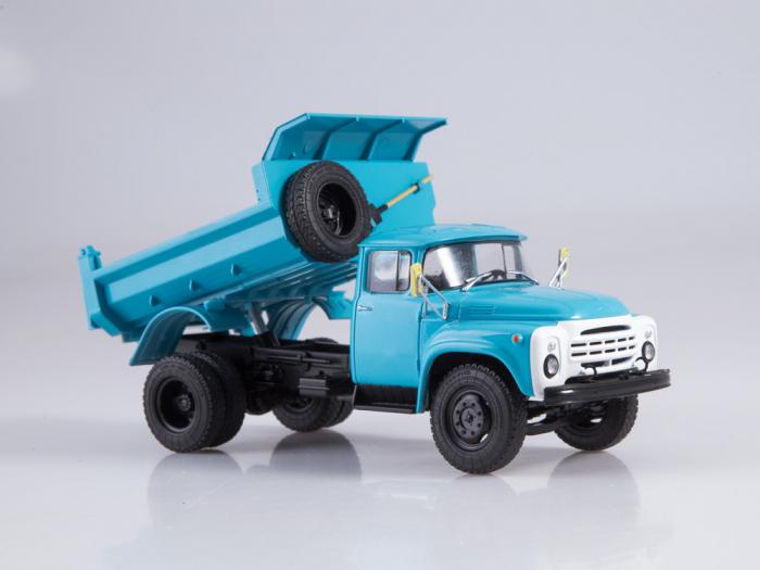 Macheta auto basculanta ZIL-MMZ-4505, scara 1:43 [3]
