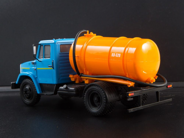 Macheta auto camion vidanja KO-540 (ZIL-4333), scara 1:43 [1]