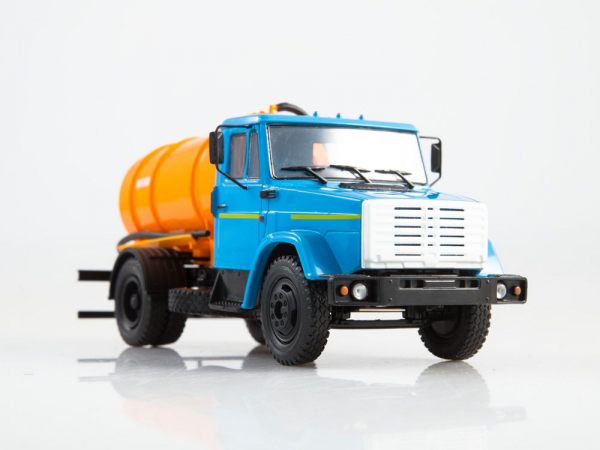 Macheta auto camion vidanja KO-540 (ZIL-4333), scara 1:43 [4]
