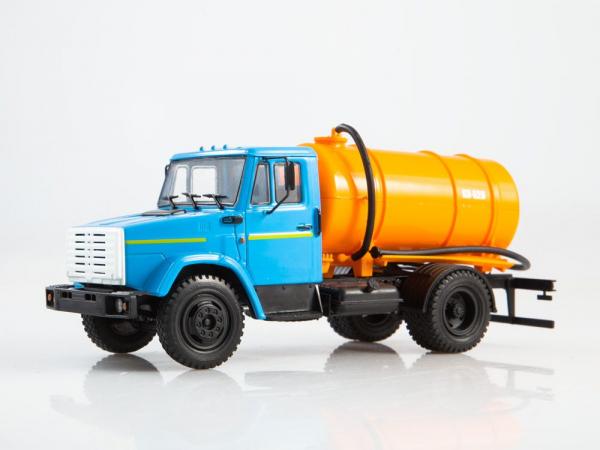 Macheta auto camion vidanja KO-540 (ZIL-4333), scara 1:43 [2]