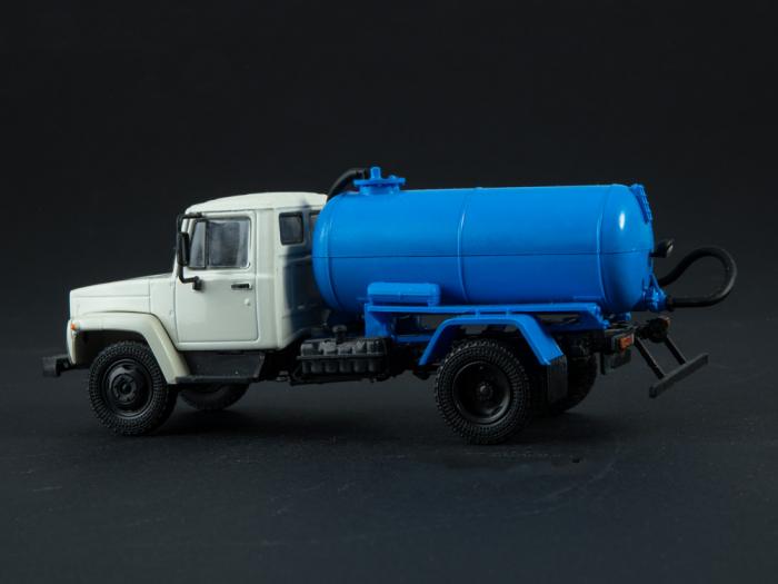 Macheta auto camion vidanja KO-503V (ZIL-3307), scara 1:43 [7]