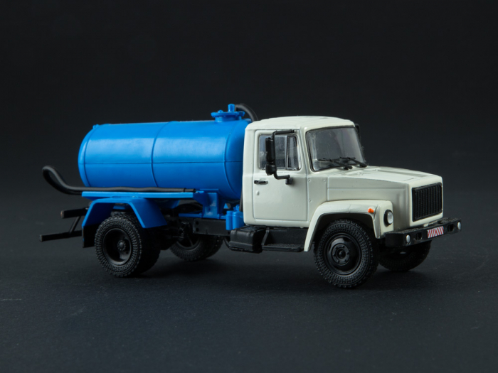 Macheta auto camion vidanja KO-503V (ZIL-3307), scara 1:43 [3]