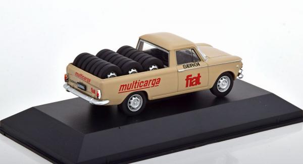 Macheta auto camioneta Fiat 1500 Multicarga, scara 1:43 1